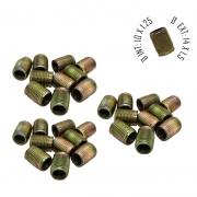 Rosca Postiça Bucha Roscada - M10x1,25 - M14x1,5 - 30 Pçs