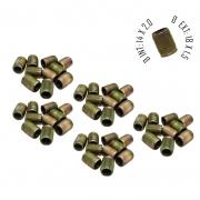 Rosca Postiça Bucha Roscada - M14x2,0 - M18x1,5 - 50 Pçs