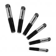 Saca Parafusos Ades - Medida 2,0 a 13,5mm - Jogo com 6 Peças em Estojo Plástico