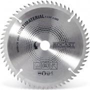 """Serra Circular Com Pastilha Multimaterial - Med. 7.1/4"""" X 60 dentes - 410,0001 - ROCAST"""