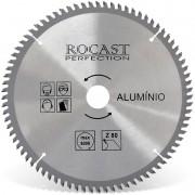 Serra Circular Com Pastilha Para Alumínio - Med. 250 mm X 80 dentes - 120,0001 - ROCAST