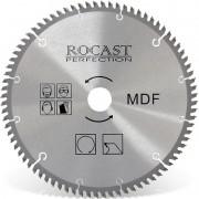 Serra Circular Com Pastilha Para MDF - Med. 250 mm X 80 dentes - 121,0001 - ROCAST