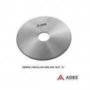 Serra Circular Hss Din 1837 A - Med. 80 X 3,0 X 22mm