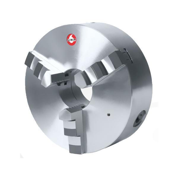 """Placa Para Torno Universal Diâmetro 205mm/8"""" Com 3 Castanhas Monobloco - UMP205-3E - UMP/UNION"""