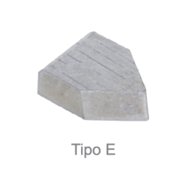 Pastilha de Solda - Metal duro (MD) - Tipo E4 - Classe P30 - DIN 4950 - JG TOOLS