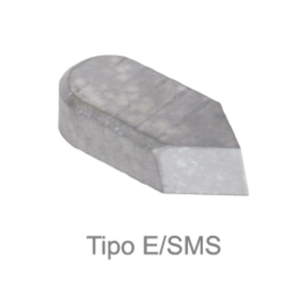 Pastilha de Solda - Metal duro (MD) - Tipo E/SMS12 (F4) - Classe P30 - SIMILAR DIN - JG TOOLS