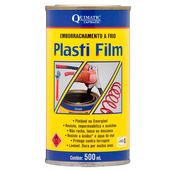 PLASTI FILM ? Emborrachamento a Frio - Lata de 500 ML - BRANCO - QUIMATIC/TAPMATIC