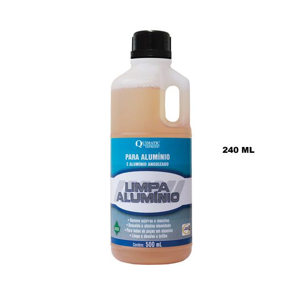 Limpa-Alumínio - Embalagem 240 ML - QUIMATIC/TAPMATIC