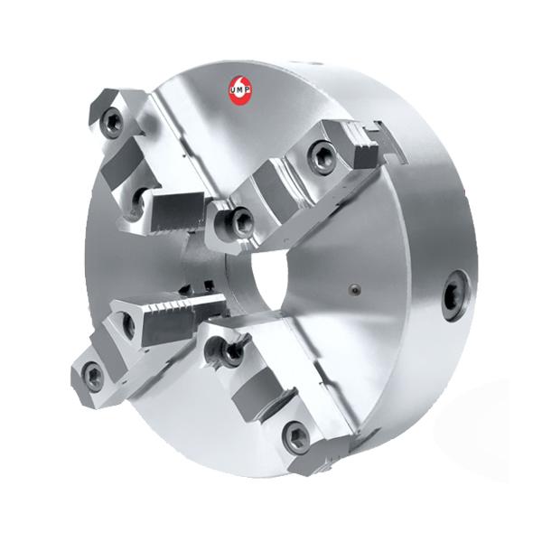 """Placa Para Torno Universal Diâmetro 160mm/6"""" Com 4 Castanhas Sobrepostas Reversíveis - UMP160A-4E - UMP/UNION"""