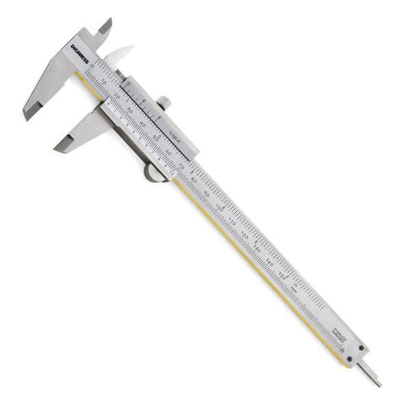 """Paquímetro Universal Com Guias De Titânio - 300mm/12"""" - Graduação 0,05mm/1/128"""""""