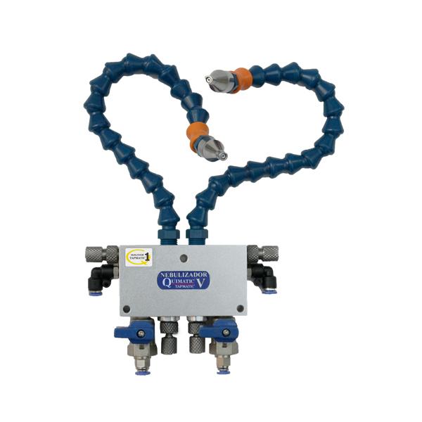 Nebulizador V Tapmatic - Dispositivo para Nebulização de Fluido para Usinagem - QUIMATIC/TAPMATIC