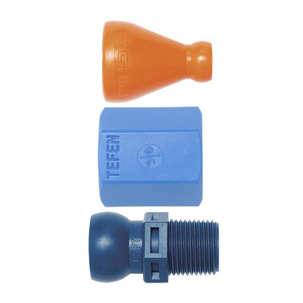 """4-A Super Conexões - Diâmetro Interno Ø 1/4"""" - 6,35mm - QUIMATIC/TAPMATIC"""