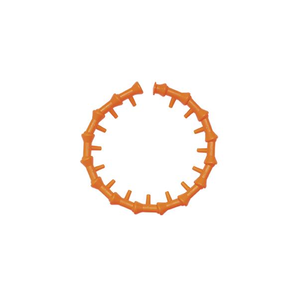 """10-A Sistema com 15 Bicos com Furos de Ø 1/4 Jato Lateral e Aplicação Circular - Diâmetro Interno Ø 1/4"""" - 6,35mm - QUIMATIC/TAPMATIC"""