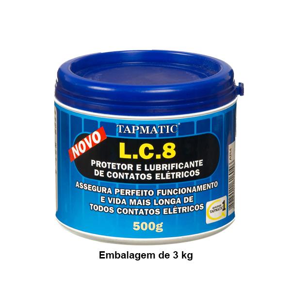 L. C. 8 - Protetor e Lubrificante de Contatos Elétricos - Embalagem 3 Kg - QUIMATIC/TAPMATIC