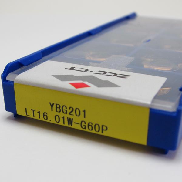 Inserto Pastilha de Rosca 16 Interna 60º - LT16.01W-G60P YBG201 - Caixa com 10 Peças - ZCC-CT