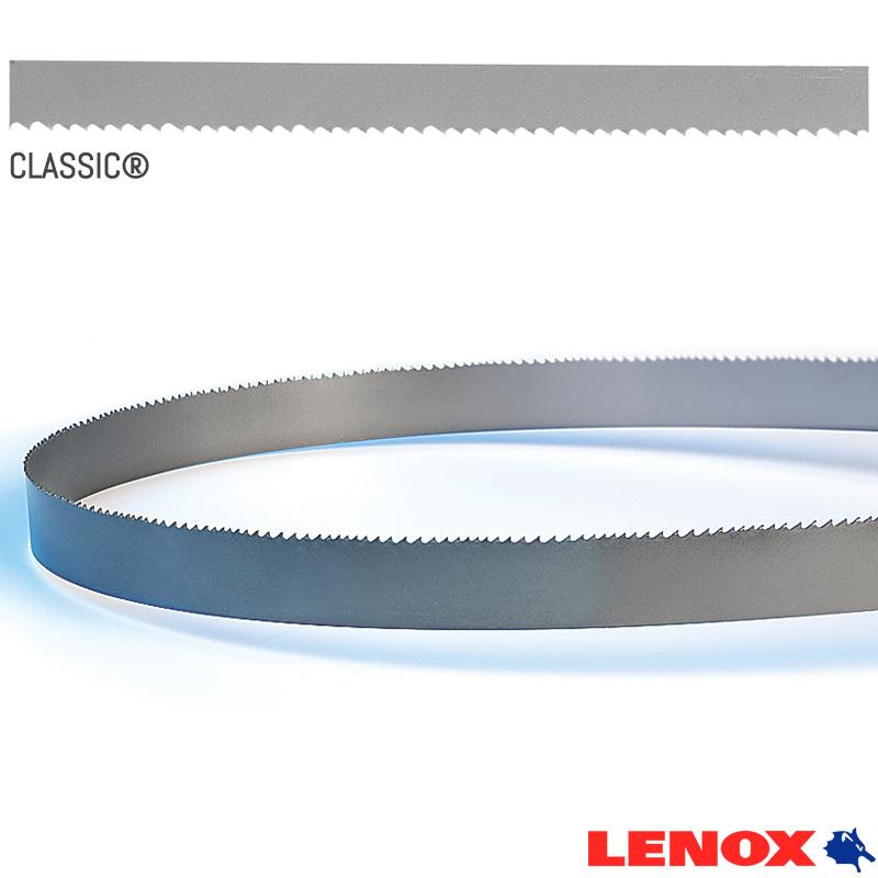 """Serra de Fita Bimetálica Classic - Med. 1""""-27mm (6-10D) 4,46M - LENOX"""