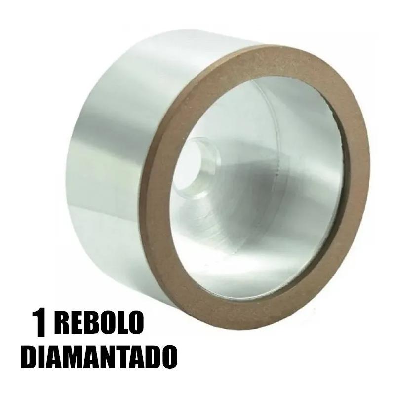 Afiadora Universal de Ferramentas + Rebolo Diamantado - 220V