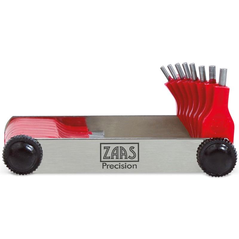 Calibrador De Furo - Cap. 0,45 - 1,5mm - 20 Peças - Ref. 113,0008 - ZAAS