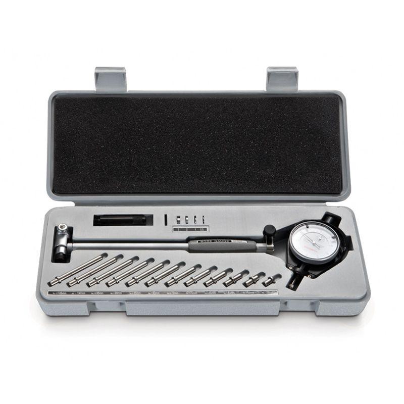 Comparador De Diâmetros Internos Com Espaçadores Metal Duro (Súbito) - Cap. 10-18 mm - Graduação De 0,01mm - Haste 100mm - Ref. 130.556 - DIGIMESS