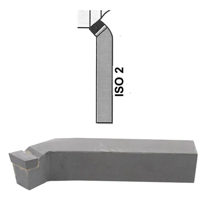 Ferramenta Soldada Curta Para Desbastar ISO 2 - 0808 D P30 - DIN 4972 - JG TOOLS