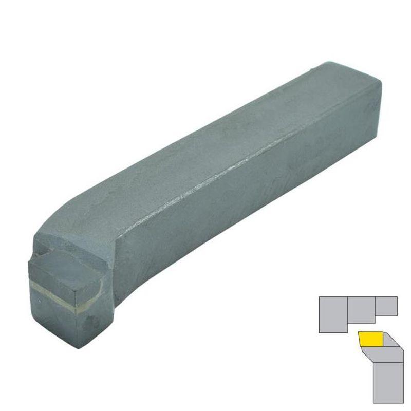 Ferramenta Soldada Curva Facear Desbastar ISO 5 - 0808 D P30