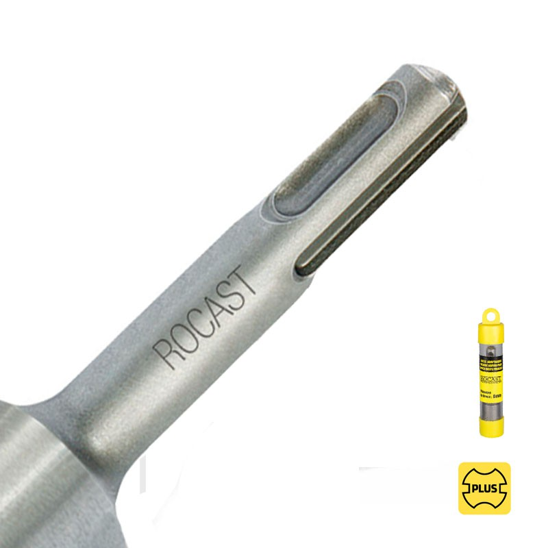Haste Adaptadora Com Encaixe PLUS Para Broca Haste Paralela - 9,0mm - Ref. 44,0009 - ROCAST