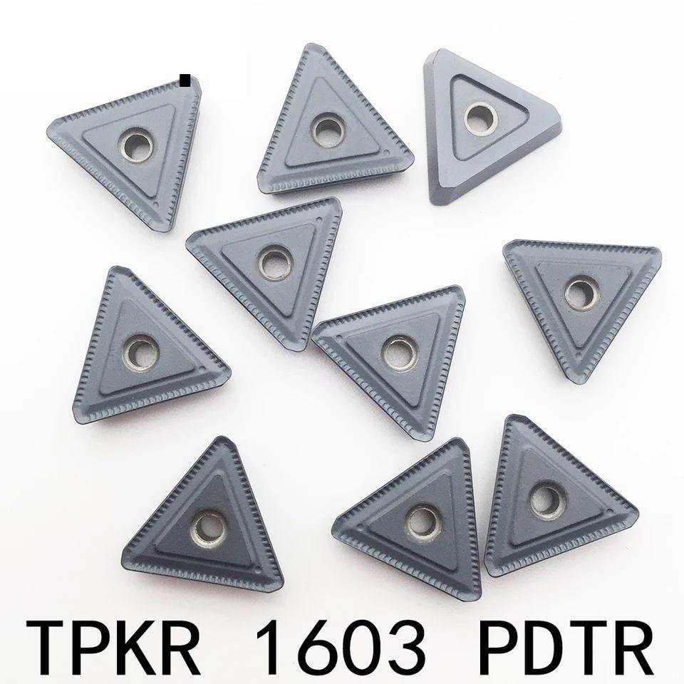 Inserto Pastilha TPKR 1603 PDTR LT30 - Caixa com 10 Peças - JG TOOLS