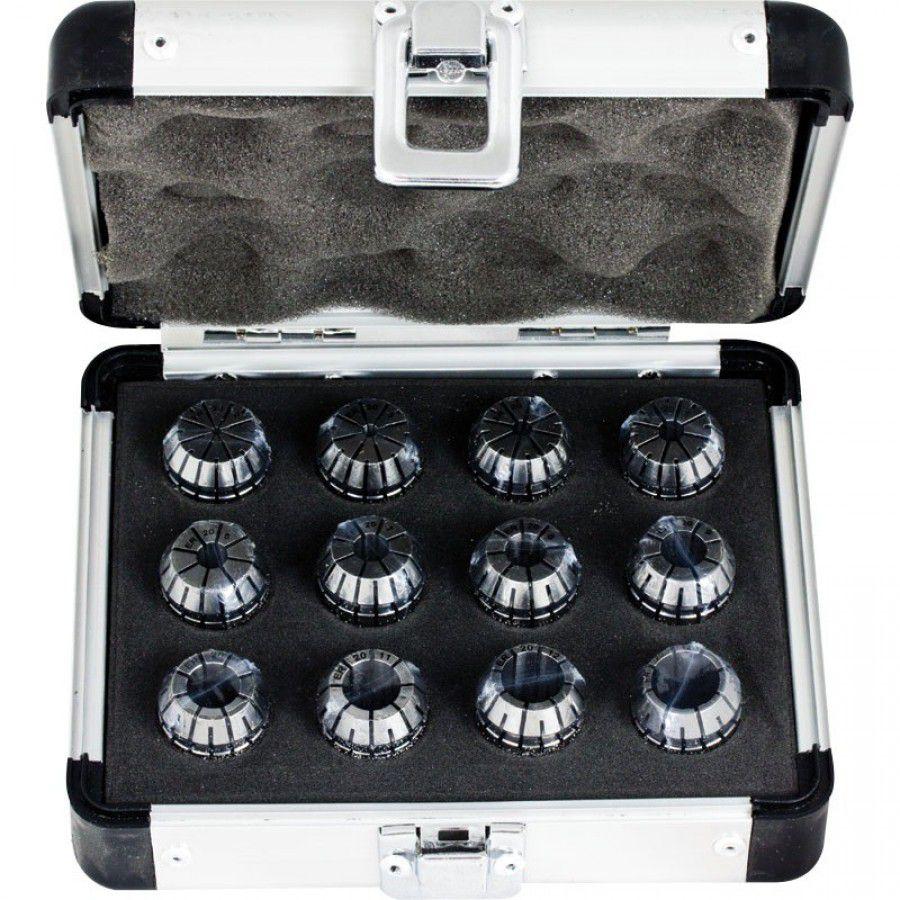 Jogo Pinças ER20 com 13 Pçs - Cap. 1 A 13 mm