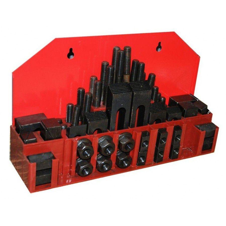 Jogo De Presilha Para Fixação M10  - Canal 12mm com 58 Peças