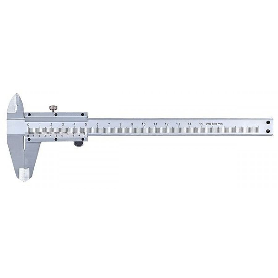 Paquímetro 200 mm x Graduação 0,02 mm - JG TOOLS