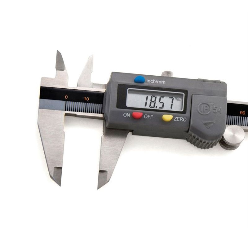 """Paquímetro Digital Com Nível De Proteção IP54 - Resolução De 0,01mm/.0005"""" - Cap. 150mm/6"""" - DIGIMESS"""