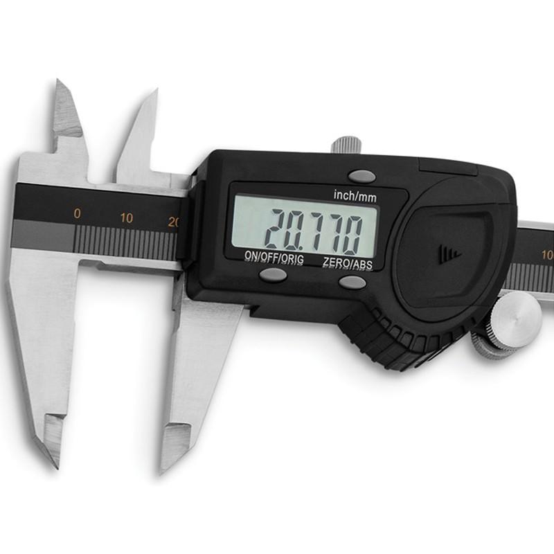"""Paquímetro Digital Com Resolução De 0,005mm/.0002"""" - Cap. 200mm/8"""" - DIGIMESS"""