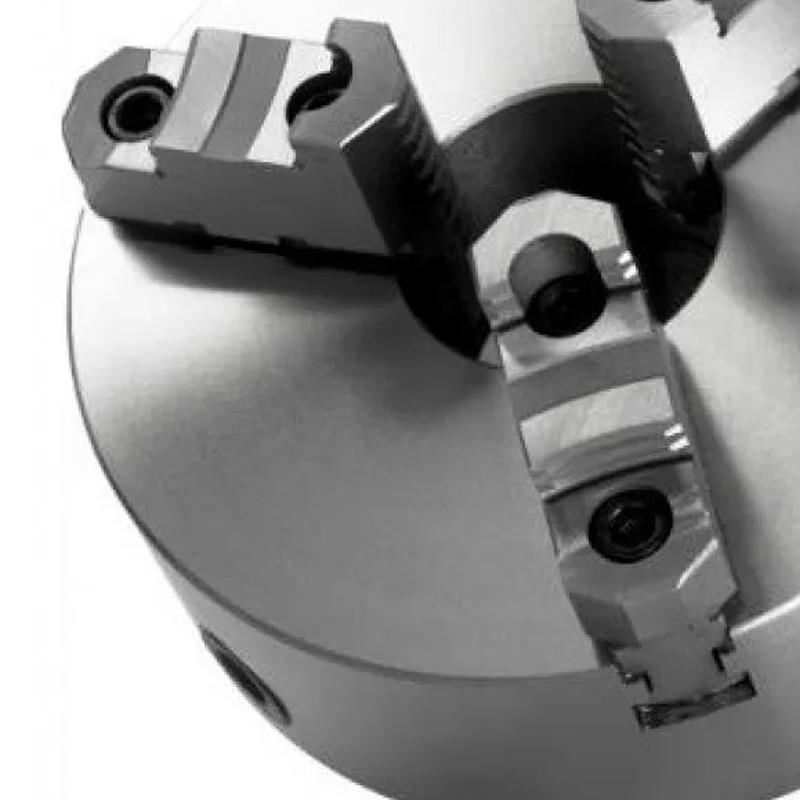 Placa Para Torno Universal 160mm/6 - 3 Castanhas Reversíveis