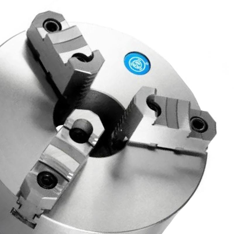 Placa Para Torno Universal 200mm/8 - 3 Castanhas Reversíveis