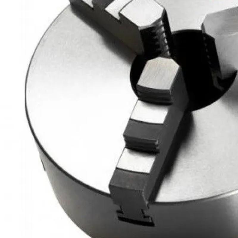 """Placa Para Torno Universal - Med. 250mm/10"""" 3 Castanhas"""