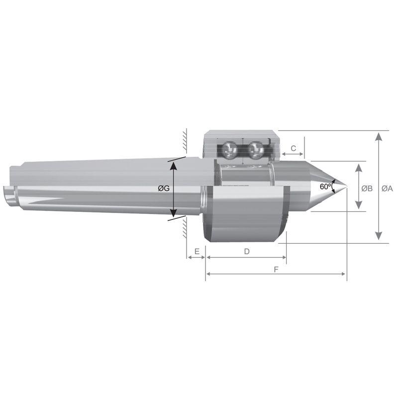 Ponta Rotativa CM-5 Standard C-205