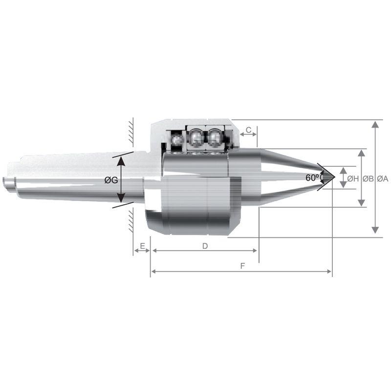 Ponta Rotativa Copiador CM-4 AC-314