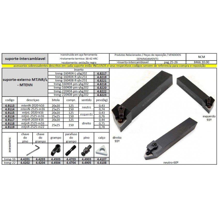 Suporte MTJNL 2020 K16 - JG TOOLS