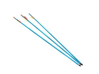Flecha de Aluminio Man Kung Arrow para Arcos Ponteira Rosqueável 30