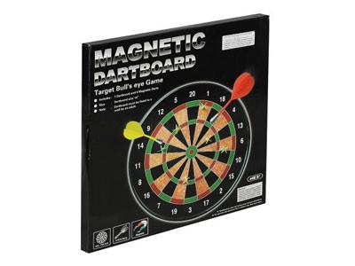 Kit Jogo de Dardos Magnéticos 35CM + 6 Dardos