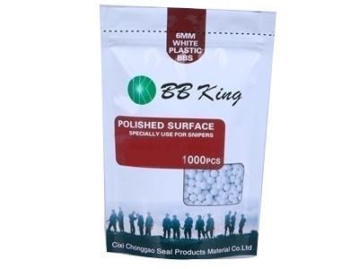 Munição/Esferas BBS 0,40 BB King Branca 1000 6MM