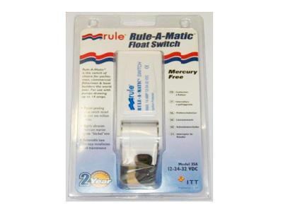Interruptor Elétrico Automático para Bombas de Porão - Rule