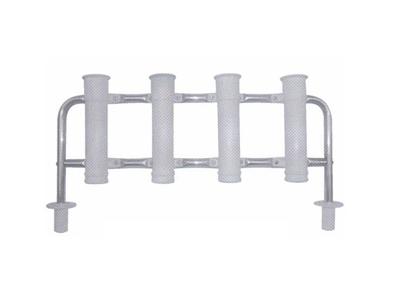 Rack porta varas aluminio p/ 4 varas barco
