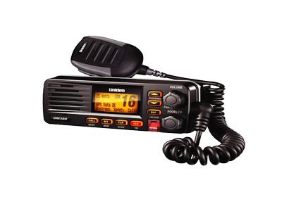 Rádio VHF Marítimo Solara Dsc Uniden Preto