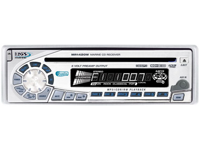 CD/MP3 Player Marinizado Boss Marine