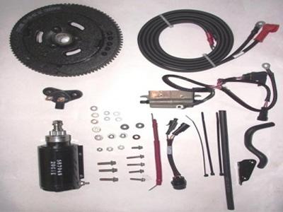 Kit de partida eletrica 25 e 30 hp Evinrude E-tec