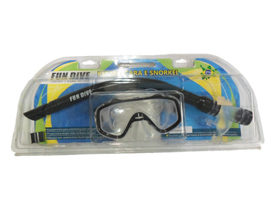 Kit Máscara e Snorkel Junior Fun Dive SK-03