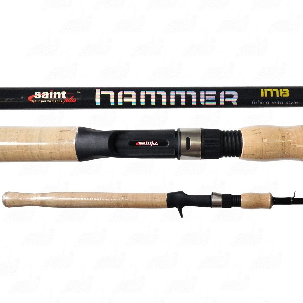 Vara Saint Plus Hammer IM8 p/ Carretilha 7-17LBS 562BC