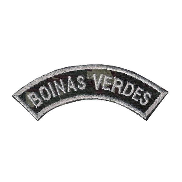 Bordado Termocolante Tarjeta Boinas Verdes
