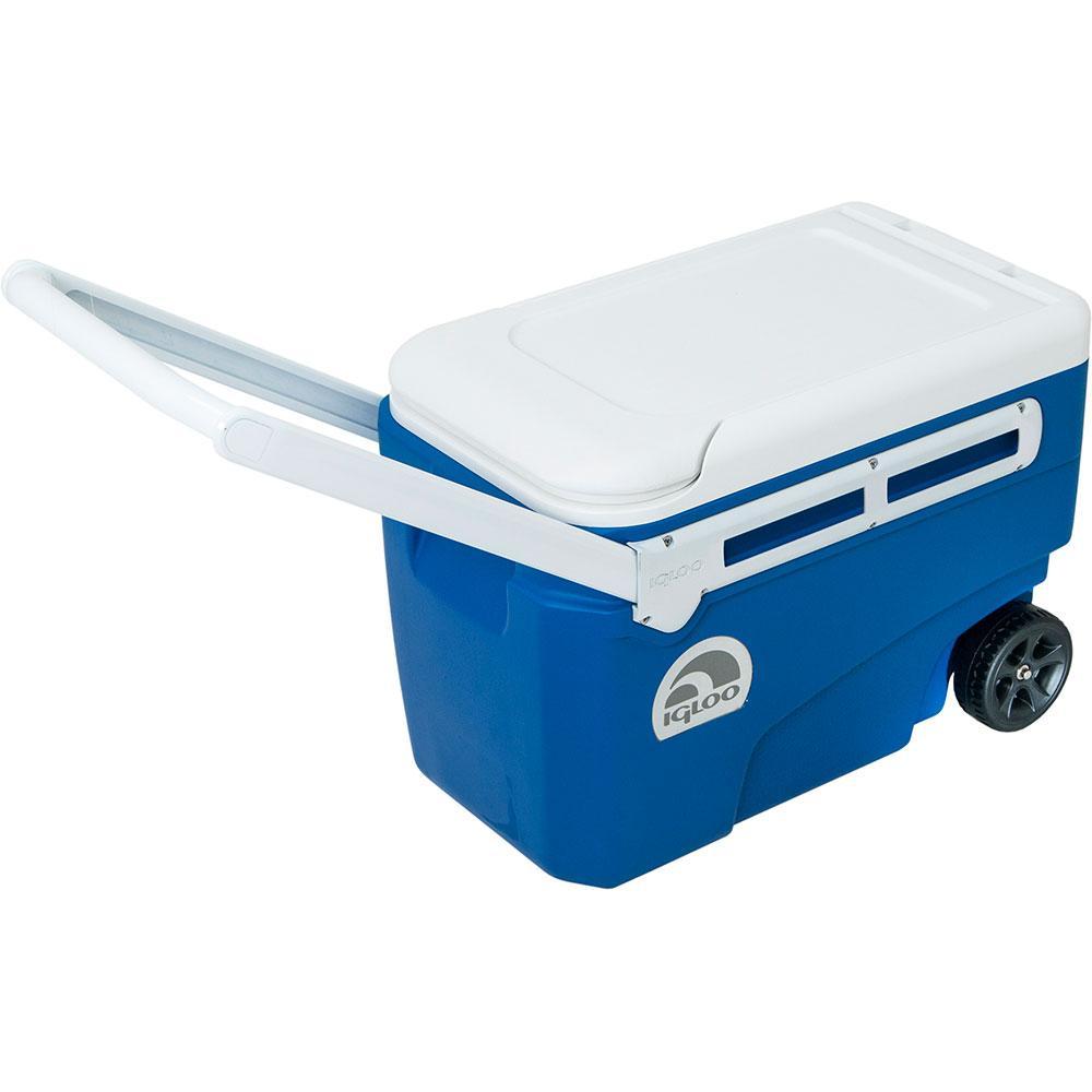 Caixa Termica / Cooler  Nautika Igloo Contour Glide 38 Azul